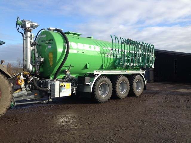 High capacity tankers, large flotation tyres, turbo fillers & auto fill arms all improve efficiency.